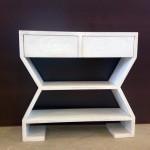 Mueble con estantes y cajones