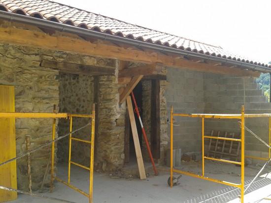 Montaje de tejado – in situ