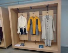 Armario para mostrar ropa de diseñadores en Tabakalera
