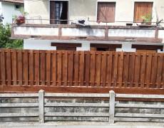 Cierres y vallados de madera para jardín y terrazas