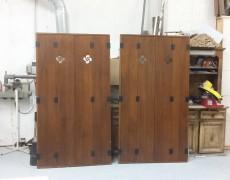 Contraventanas de madera