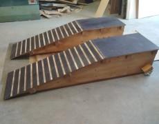 Rampas de madera robustas